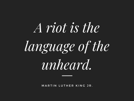 Wednesday Wisdom: #BlackLivesMatter