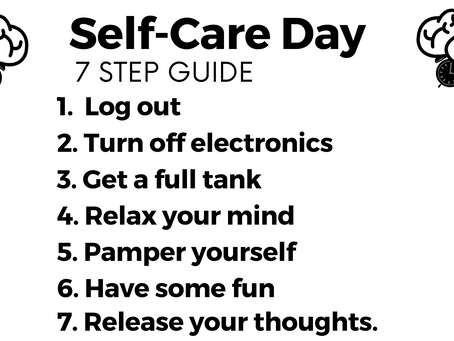 7 Step Guide To A Successful Self-Care Day