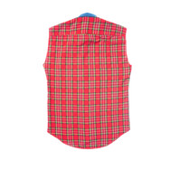 Custom sleeveless flannels