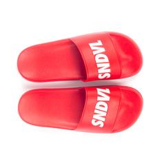 Custom sandal slides