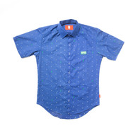 Custom short sleeve button up