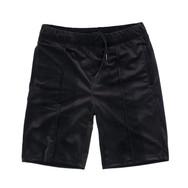 Custom velour shorts