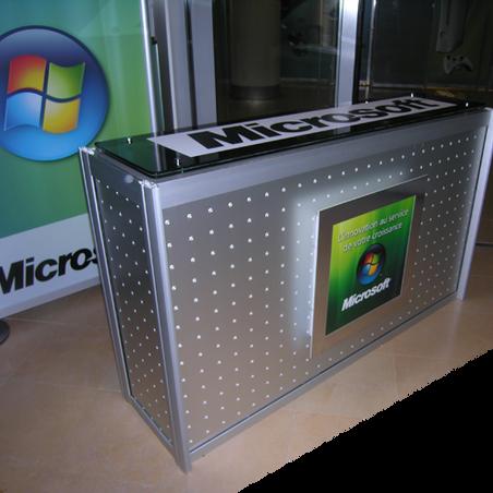 Microsoft - Banque d'accueil