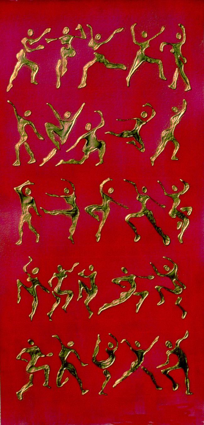 ASANAS Rose Dance Mixed Media Tablet
