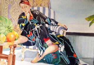 Model in Matisse's Studio