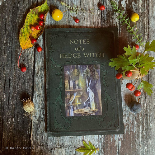 Notebook. Notes of a Hedgewitch. A5 Size