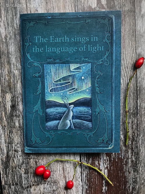 A5 Notebook. The Earth Sings in the Language of Light