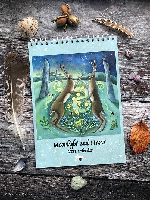Moonlight and Hares 2021 Calendar