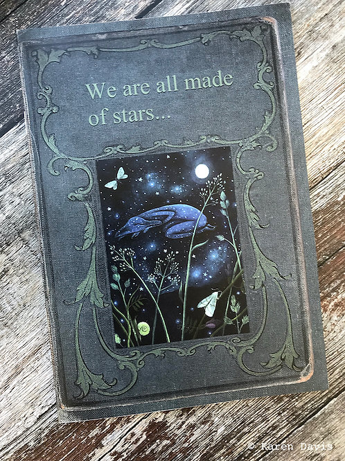 We are all Made of Stars. A5 Blank Notebook