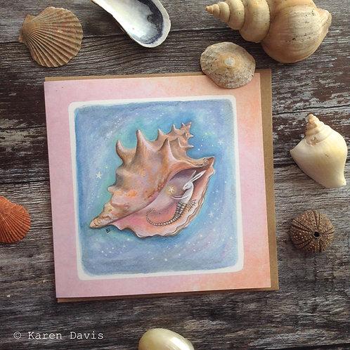 Magical Sea Hare. Greeting Card x1