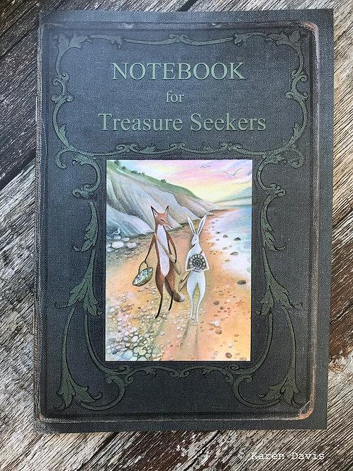Notebook for Treasure Seekers. A5 Blank Notebook