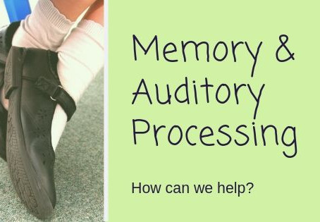 Memory and Auditory Processing- How can we help?