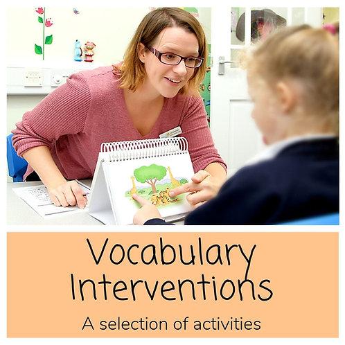 Vocabulary Interventions