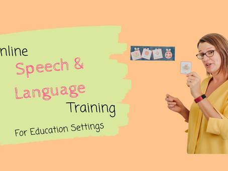 Online Speech and Language Training courses