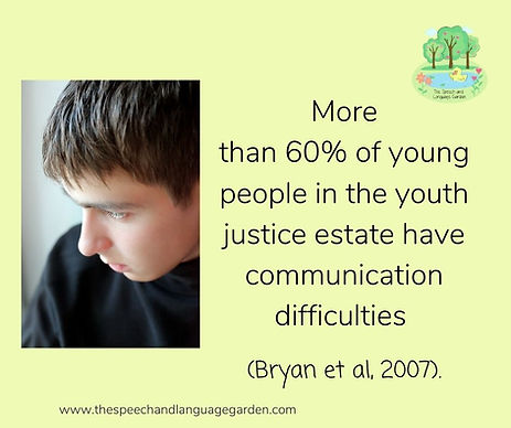 More than 60% of young people in the youth justice estate have communication difficulties.