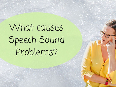 What Causes Speech Sound Problems?