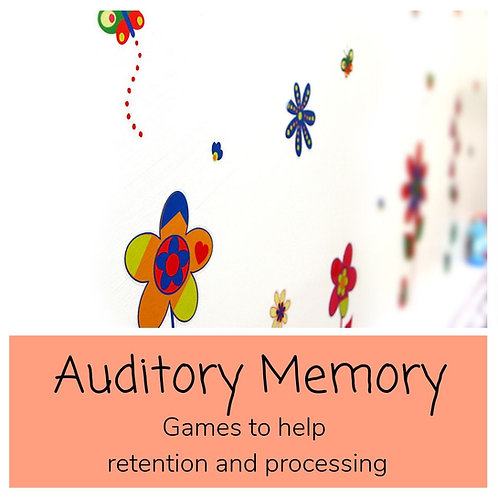 Auditory Memory Interventions