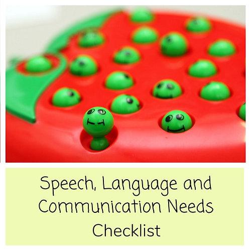 SLCN Checklist