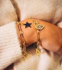 Celeste Charm Bracelet Irish design