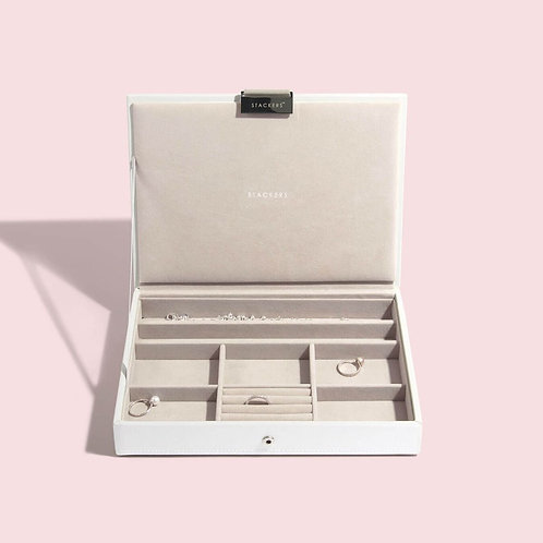 STACKERS™ White Classic Jewellery Box