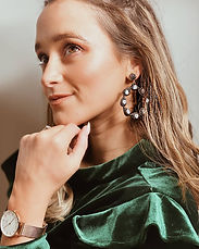 Jasmine Statement Earrings