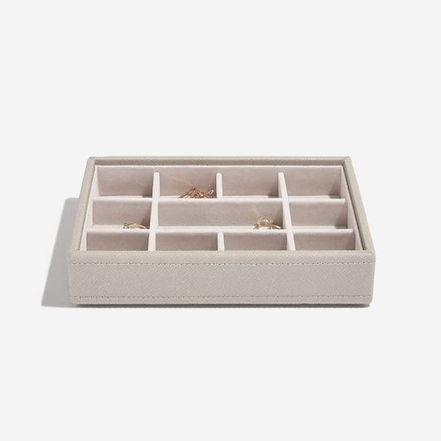 STACKERS™ Taupe Mini trinkets layer