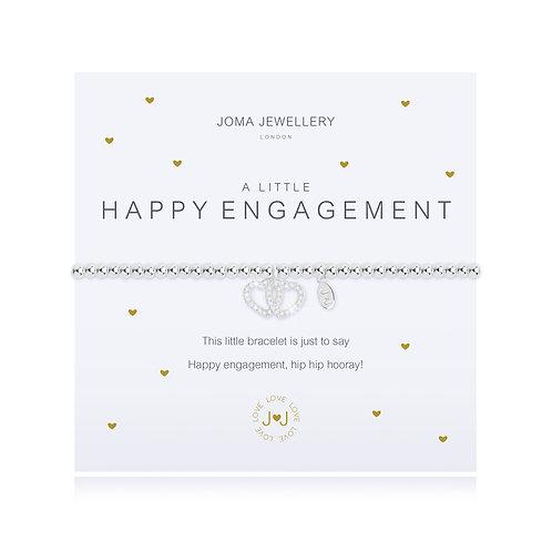 Happy Engagement Bracelet