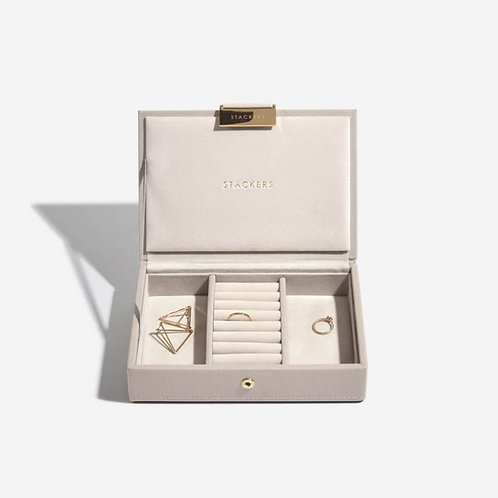 STACKERS™ Taupe Mini Jewellery Box