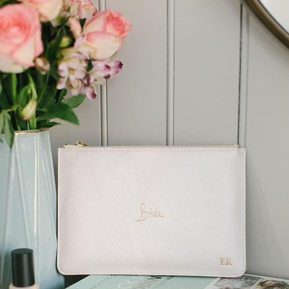 Katie Loxton Bride Perfect Pouch personalised