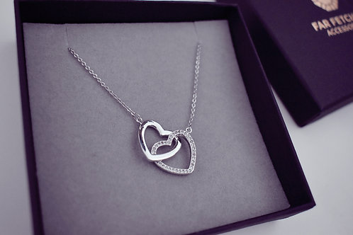 Deluxe Double Heart Necklace