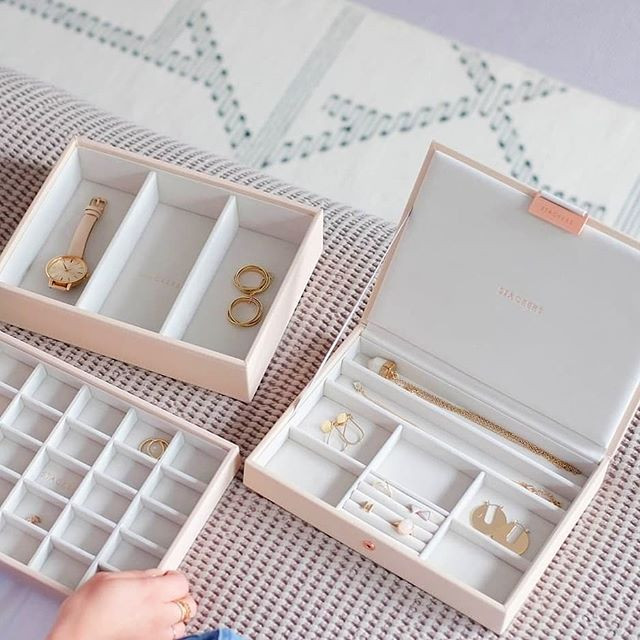 Stackers Blush Jewellery box