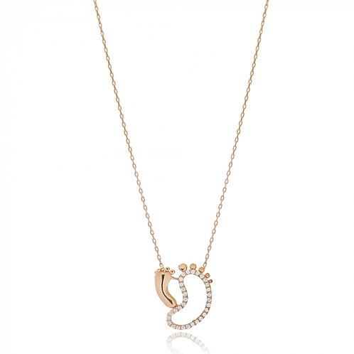 Walk By My Side Necklace