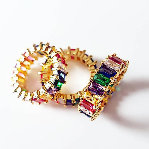 Lena Rainbow Ring