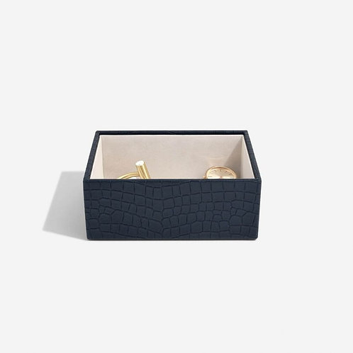 STACKERS Navy Croc Mini Watch/Accessories layer