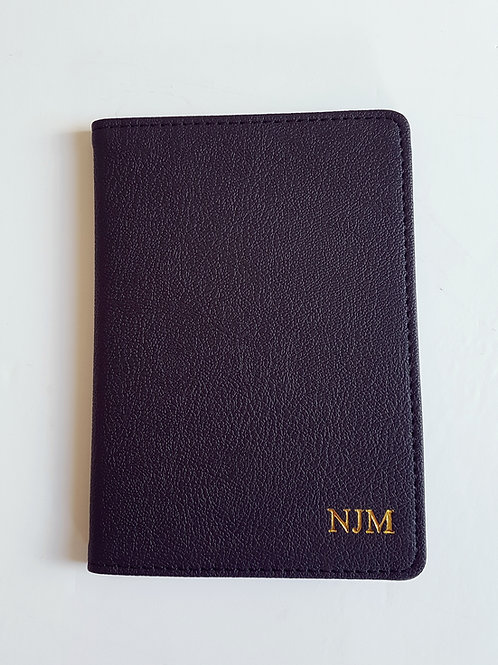 Personalised Passport Holder - Far Fetched Accessories