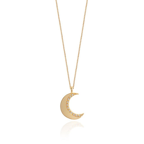 Alexis Moon Necklace
