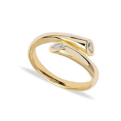 Medusa Gold Ring