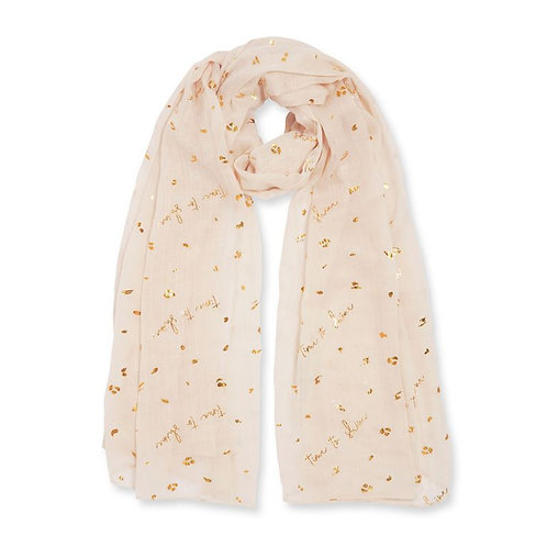 Time to Shine lightweight scarf