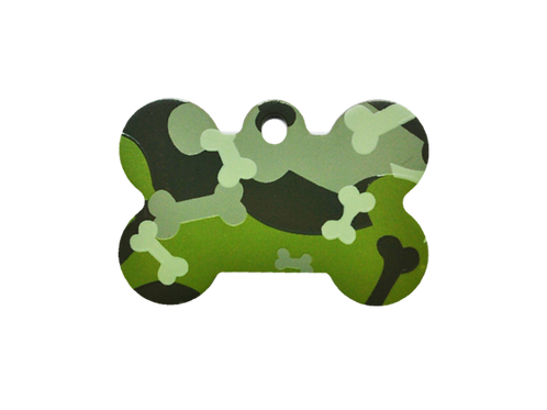 Camouflage Print Bone GY/GN