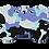 Thumbnail: Camouflage Print Bone PP/BK