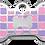 Thumbnail: Checker Bone Purple & Pink