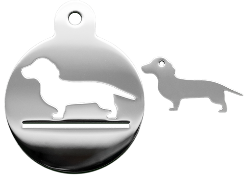 Dachshund Set With Necklace