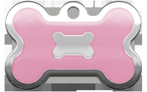 Pink Epoxy Bone (L)