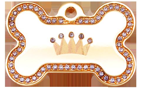 IP Gold Purple Crown Bone (L)