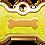 Thumbnail: IP Gold Neon Yellow Glita Bone