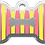 Thumbnail: Stripes Bone Yellow & Pink