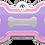 Thumbnail: Double Frames Bone Pink & Purple