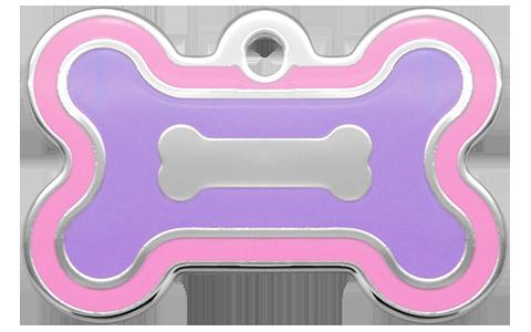 Double Frames Bone Pink & Purple