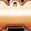 Thumbnail: Rose Gold Stone Bone (L)