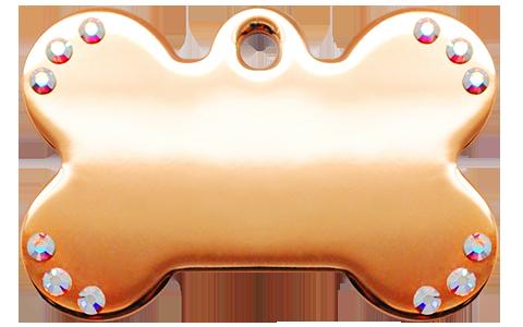 Rose Gold Stone Bone (L)